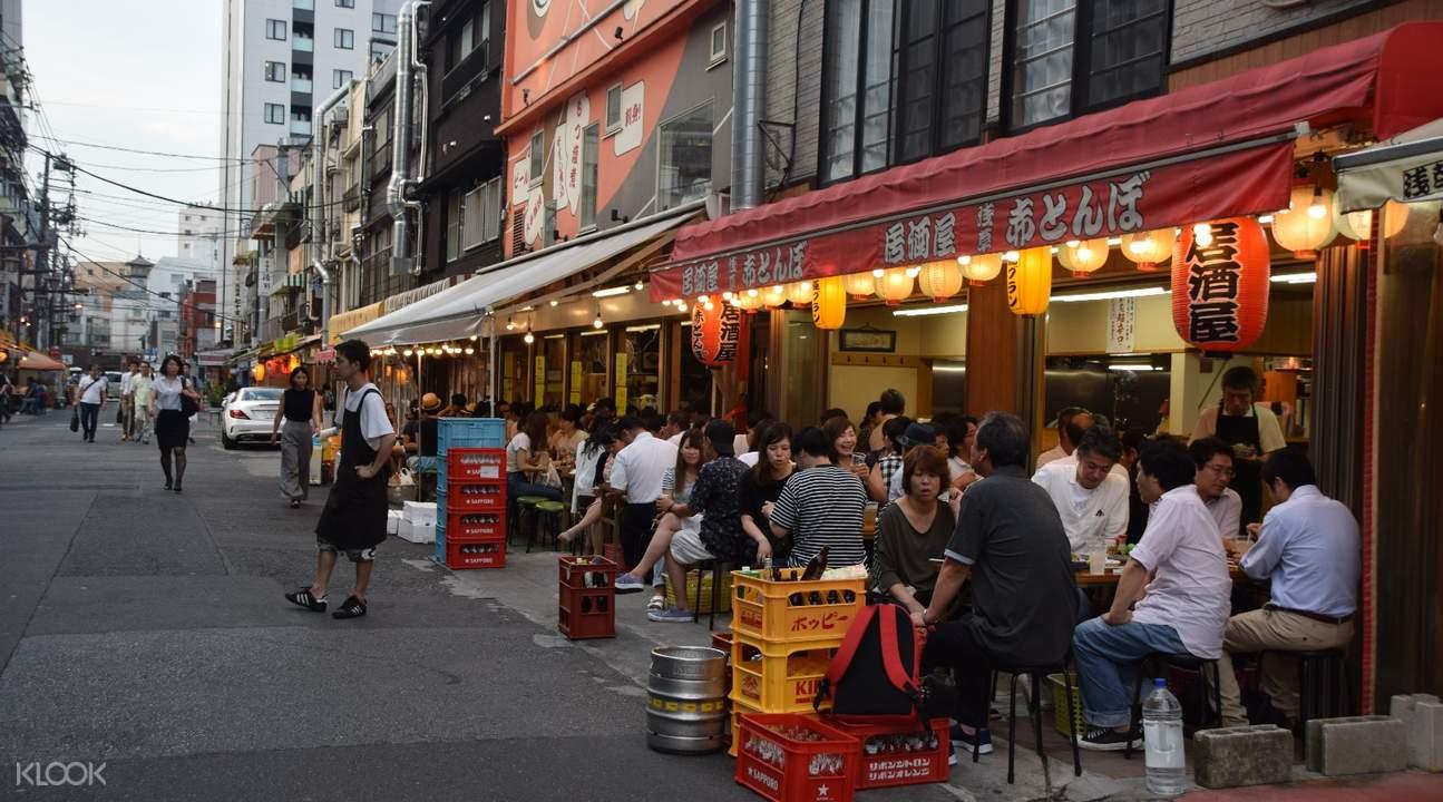 Asakusa Evening Food and drink Tour